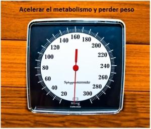 Si quieres adelgazar más rápido ayuda a tu metabolismo.
